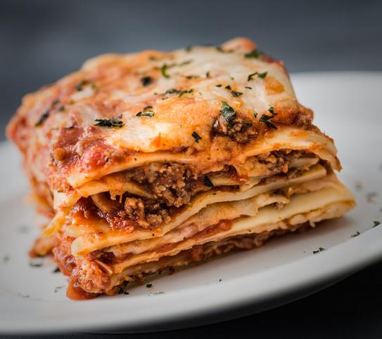 Beef Ragu Lasagne
