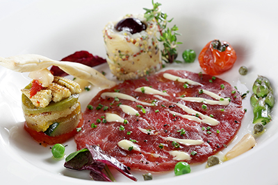 Carpaccio of lamb